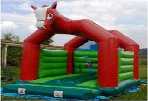 A vendre structures gonflables avec t te cheval - Structure gonflable a vendre ...