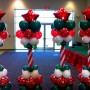 star-topped-christmas-balloon-columns